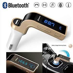 Bluetooth za Automobil FM Transmiter CarG7(Black-Red)