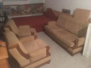 Trosjed dvije fotelje