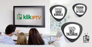 KLIK IPTV PREMIUM PONUDA SA 5000 KANALA