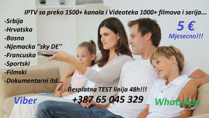 Ultra IPTV HD kanali VIDEOTEKA 48h test TV