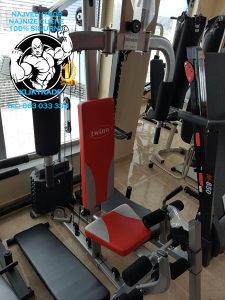 KUCNA TERETANA GLADIJATOR 70 kg Crvena Sprava vježbanje