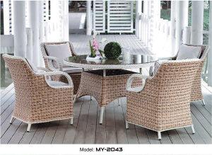 Set stol i stolice ratan 2043
