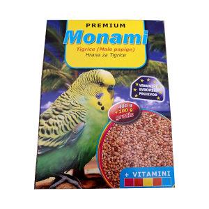Hrana za male papige (tigrice) MONAMI 500gr