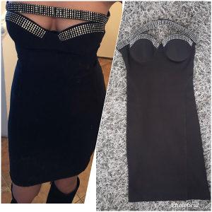 Crna haljina Kikiriki