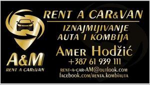 Rent a Car, Kombi 8+1, automatik vozila, prevoz putnika