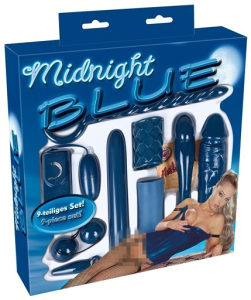 Midnight Blue Set  Sex Shop LoveStories