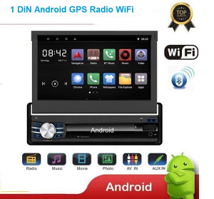 Android Auto Radio GPS 7 Incha, WiFi, Bluetooth Novo