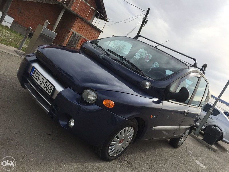 Fiat Multipla 1.6 LPG *KLIMA *PARK ASSIST *WEBASTO