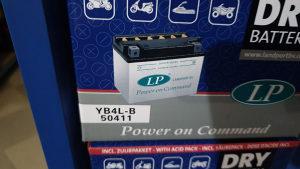 Baterije Akumulator LP za motocikle, motor, skuter