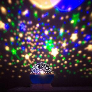 Zvjezdano nebo rotirajuće, noćna lampa, LED projektor