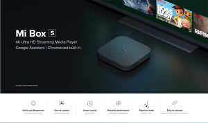 Xiaomi Mi box S android TV box, Andorid 9.0, IPTV free