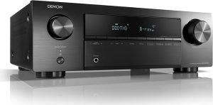 Denon AVR-X250BT (5.1 Channel, Black)