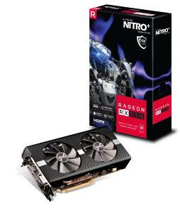 SAPPHIRE 11289-05-20G RX 590 8GB GDDR5 NITRO   OC