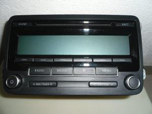 VW RADIO CD MP3 LOW EU DAB BVX-RCD 310
