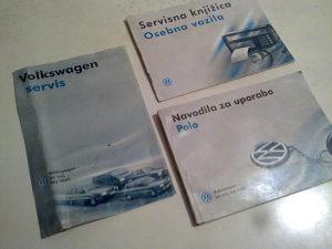VW POLO SET KNJIGA FABRICKO IZDANJE