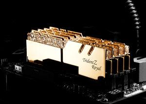 G.SKILL 32GB Trident Z Royal DDR4 3200MHz Novo!!!