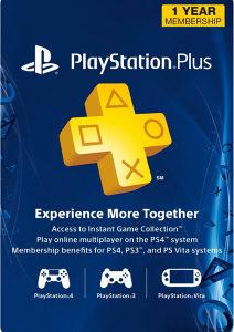 PSN Playstation PLUS 365 dana USA