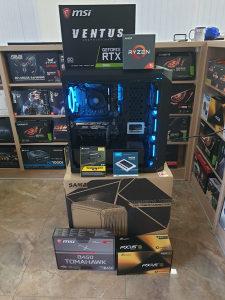 AMD RYZEN 5 2600X / MSI RTX 2060 / B450 /16GB DDR4 3200