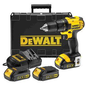 DeWALT Aku bušilica14,4V 3 baterije DCD730C3