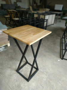Visoki sto kafic basta barski, stolovi po mjeri