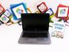 Laptop HP 840 G2; Core i5-5300U; 8GB RAM; SSD 240GB