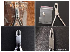 Ortodonska klesta za zicu,bravice,prstenove,weingart