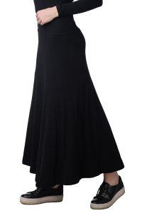 JAMES PERSE markirana predivna midi crna suknja