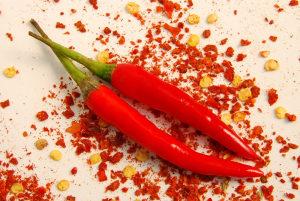 Chili ekstrakt - ljute paprike (Capiscum fruteseens)