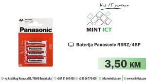 Baterija Panasonic R6RZ/4BP AA