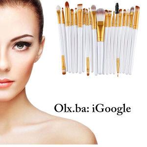 Makeup cetkice makeup set cetkice za sminku 15x BIJELE