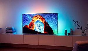 """PHILIPS TV OLED 65"""" 65OLED803/12 4K UHD Ultra Slim"""