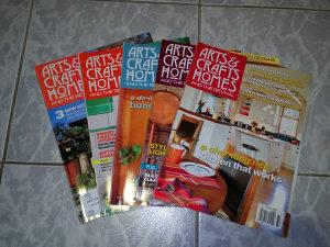 Magazini / Časopisi Arts and Crafts Homes (5komada)