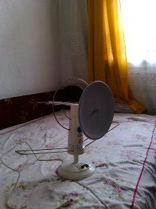 sobna antena marke CCT, sa pojacivacem