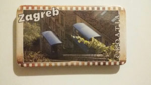 Magnet za frizider - Zagreb
