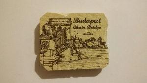 Magnet za frizider - Budimpesta - Lancani most
