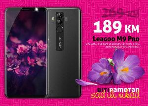 Leagoo M9 PRO - 5,72 inch|2GB+16GB|Dual 13+2mpx|3000mAh