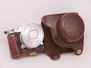 Kožna futrola torbica case za kameru Nikon 1 J5 10-30mm