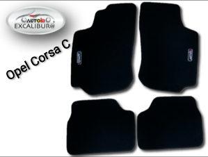 OPEL CORSA C / Patosnice tipske platnene AutoIn