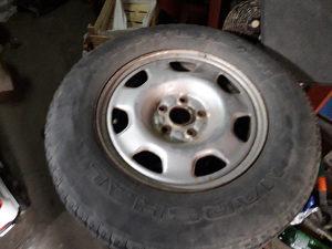 Čelične felge 16 sa zimskim gumama Toyota Rav4