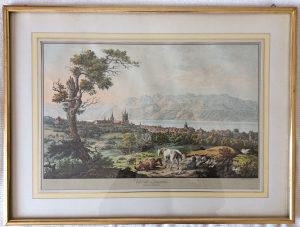 Slika Vue de Lausanne de puis Beaulieu F.G. Lardy