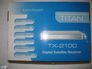 Resiver digitalni TITAN TX-2100