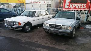Prodajem mercedes W115 i W123