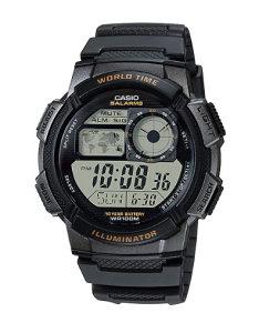 Sat Casio Illuminator World Time AE1000W-1A