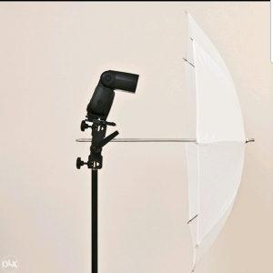 Foto studio set,nosač za blic i kišobran NEEVER