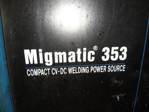 Aparat CO2 Miller Esab varenje zavarivanje 320A 350A