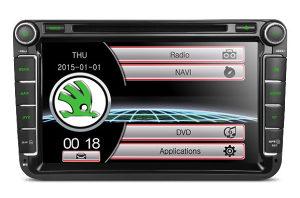 Skoda Octavia 2, DVD Radio 8 incha GPS