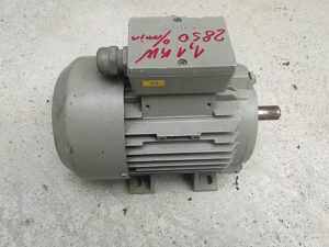 Elektro motor 1,1 kw 2850 ok