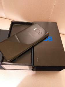 Samsung S8 Ful pak Sim free