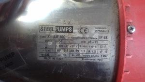 Pumpa Steel sa elektronikom 1,1kW