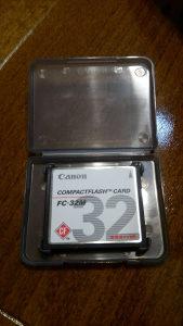 Compact flash card Canon